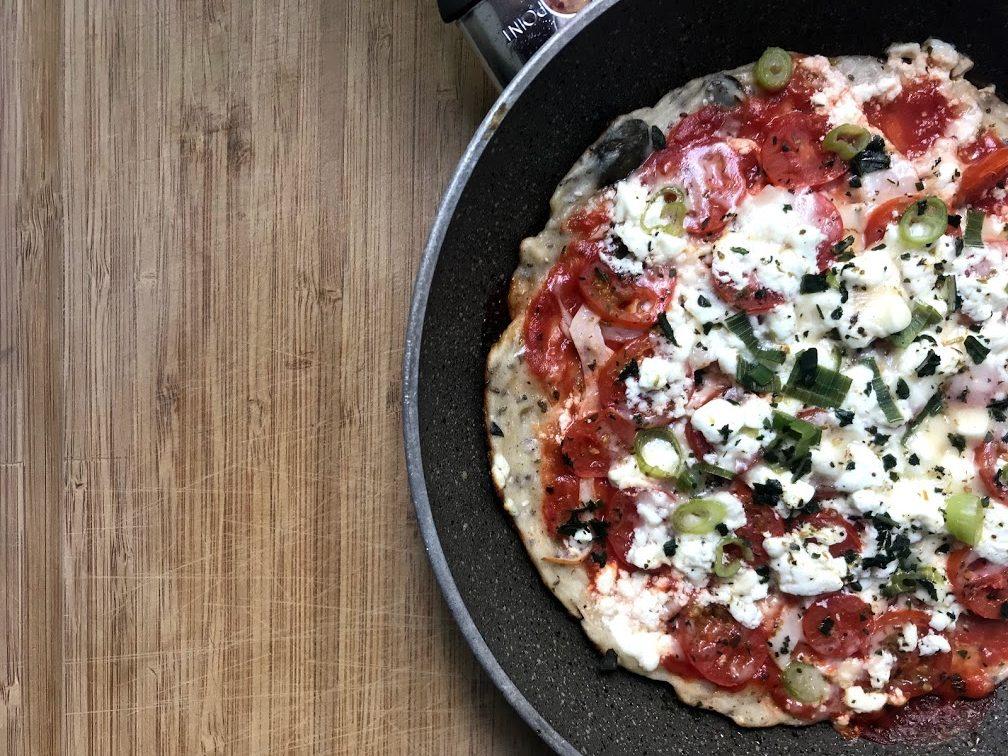 Relativ 10 Minuten Blitz Pizza aus der Pfanne - YUMYUMS OL69